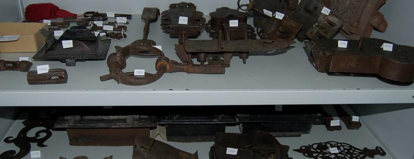 Blick in das Depot des Stadtmuseums