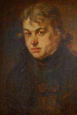 Porträt des Joseph von Hazzi (1768 – 1845) von Johann Georg Edlinger, um 1800