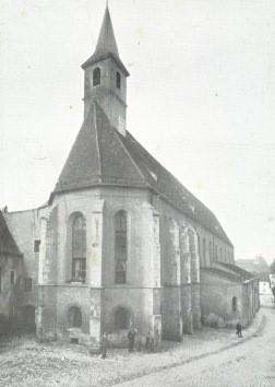 Die Kirche Unsere Liebe Frau des ehemaligen Karmelitenklosters Abensberg