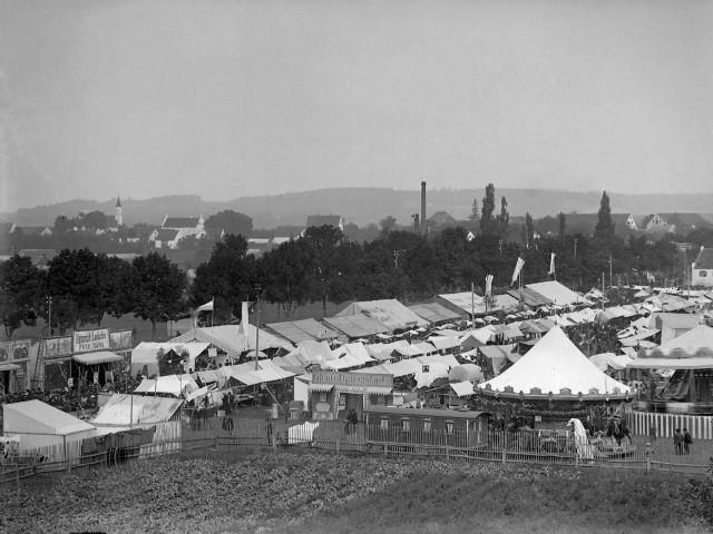 Blick auf die Gillmooswiese, um 1920
