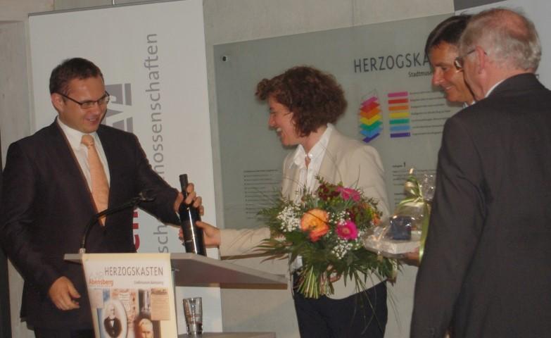 Die Referentin Frau Dr. Silvia Lolli Gallowsky