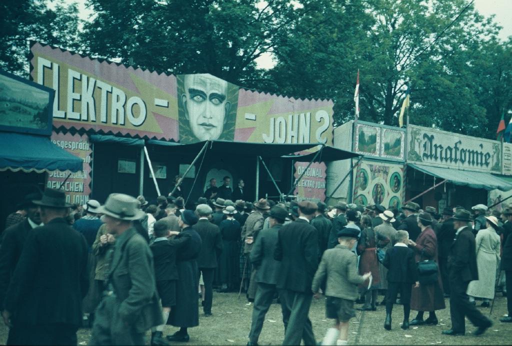 Der Gillamoos im Jahre 1938