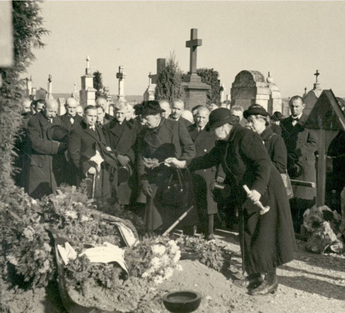 Beerdigung in Abensberg, um 1920