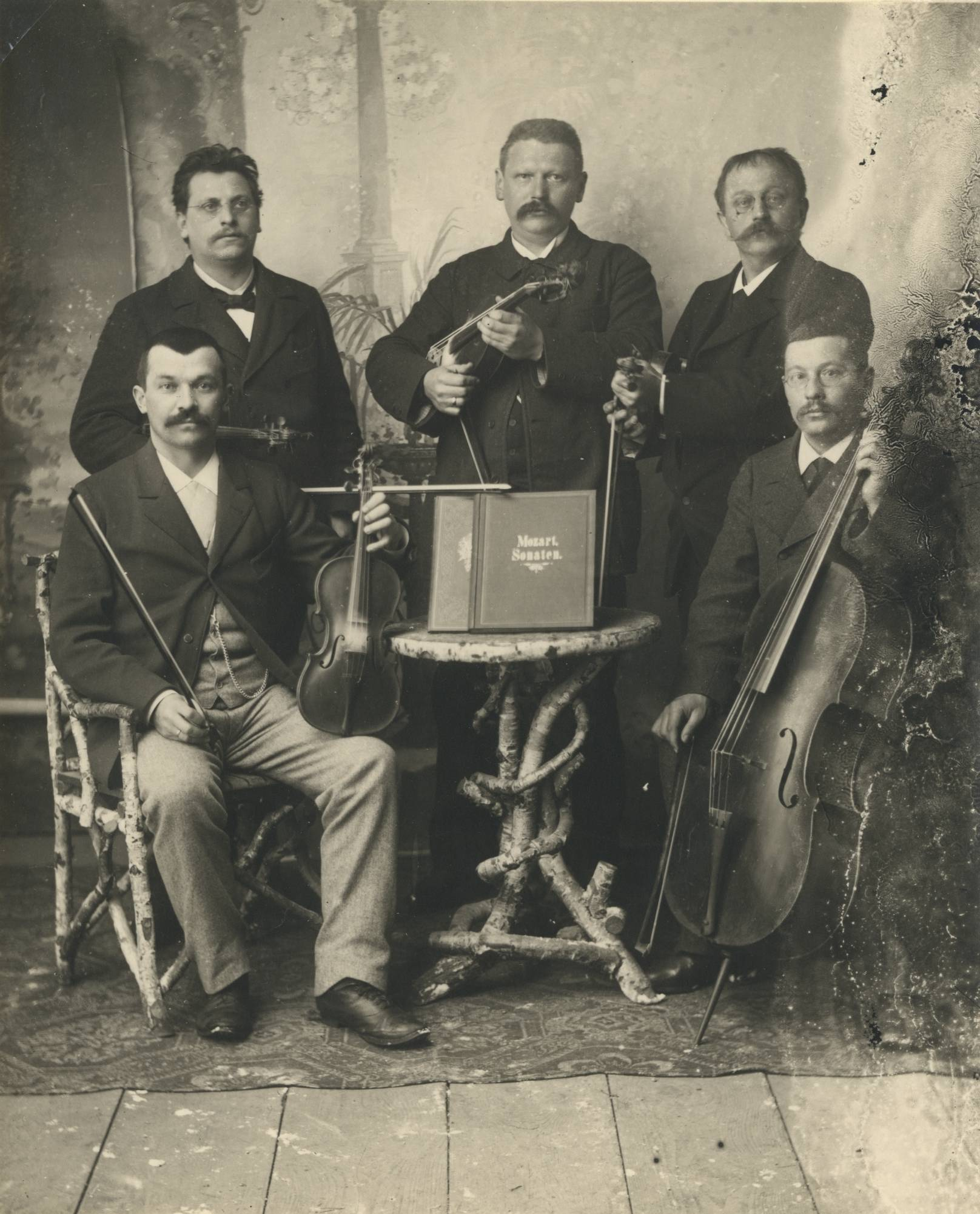 Abensberger Musiker um 1920
