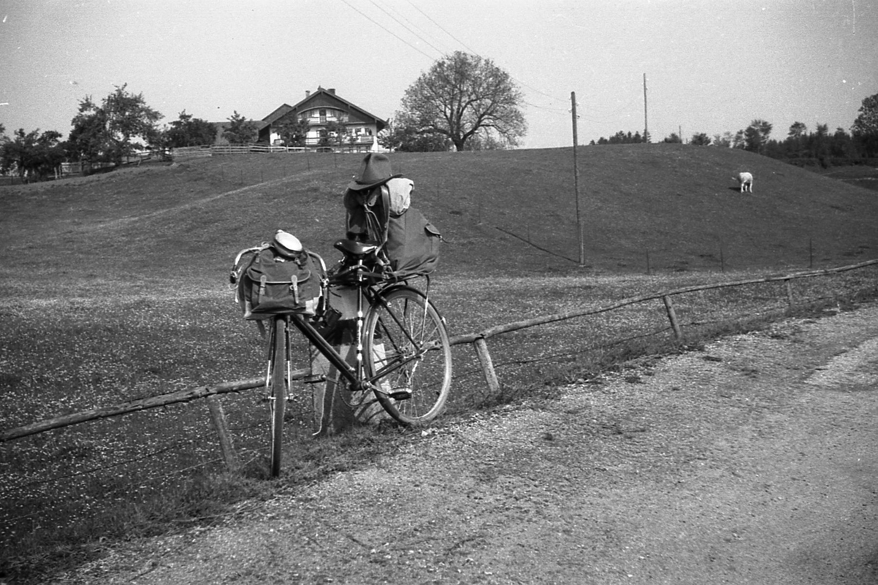 Reisefahrrad von Richard Lentner, 1953