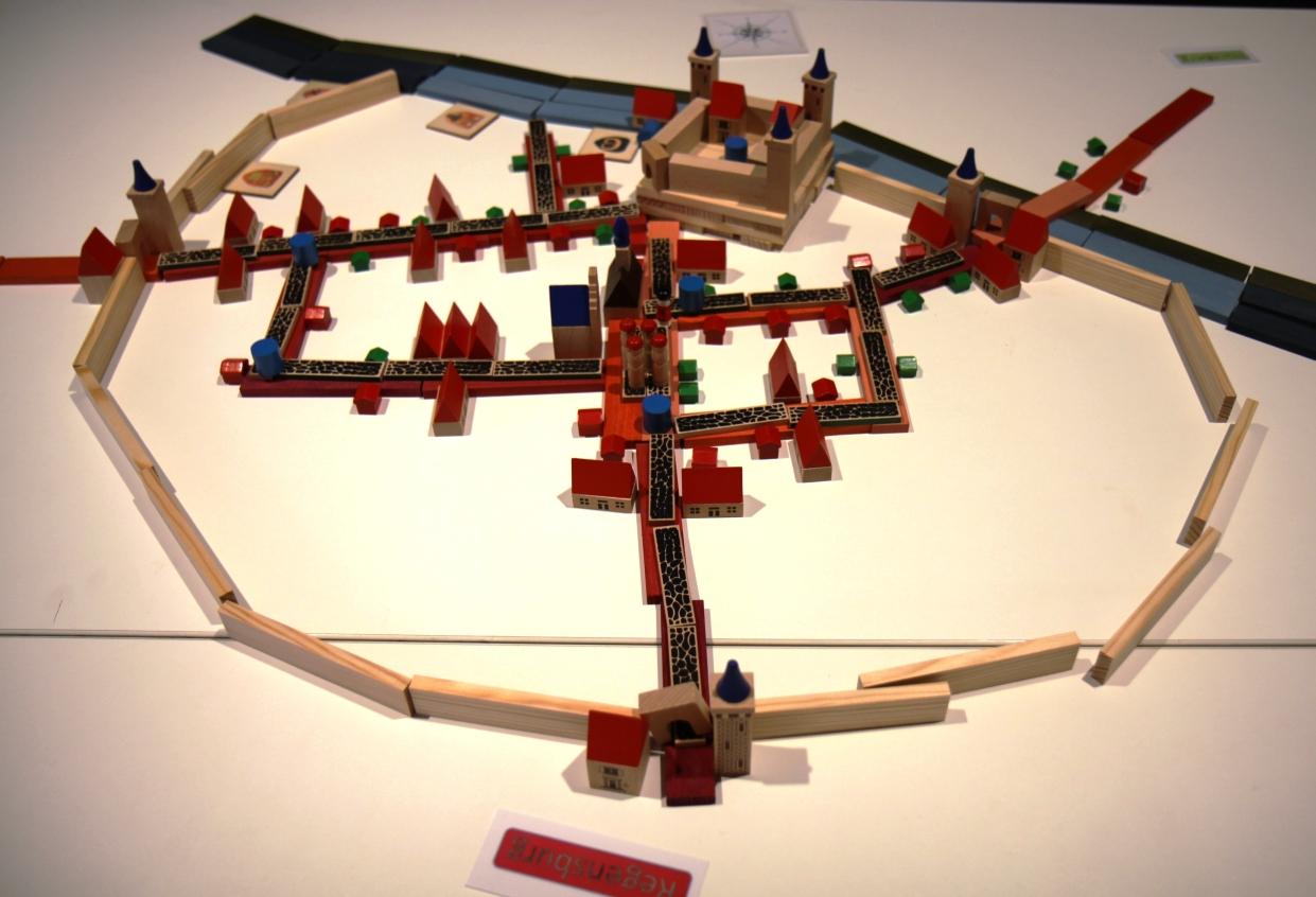 Ausgezeichnet: Der Abensberger Stadtbaukasten