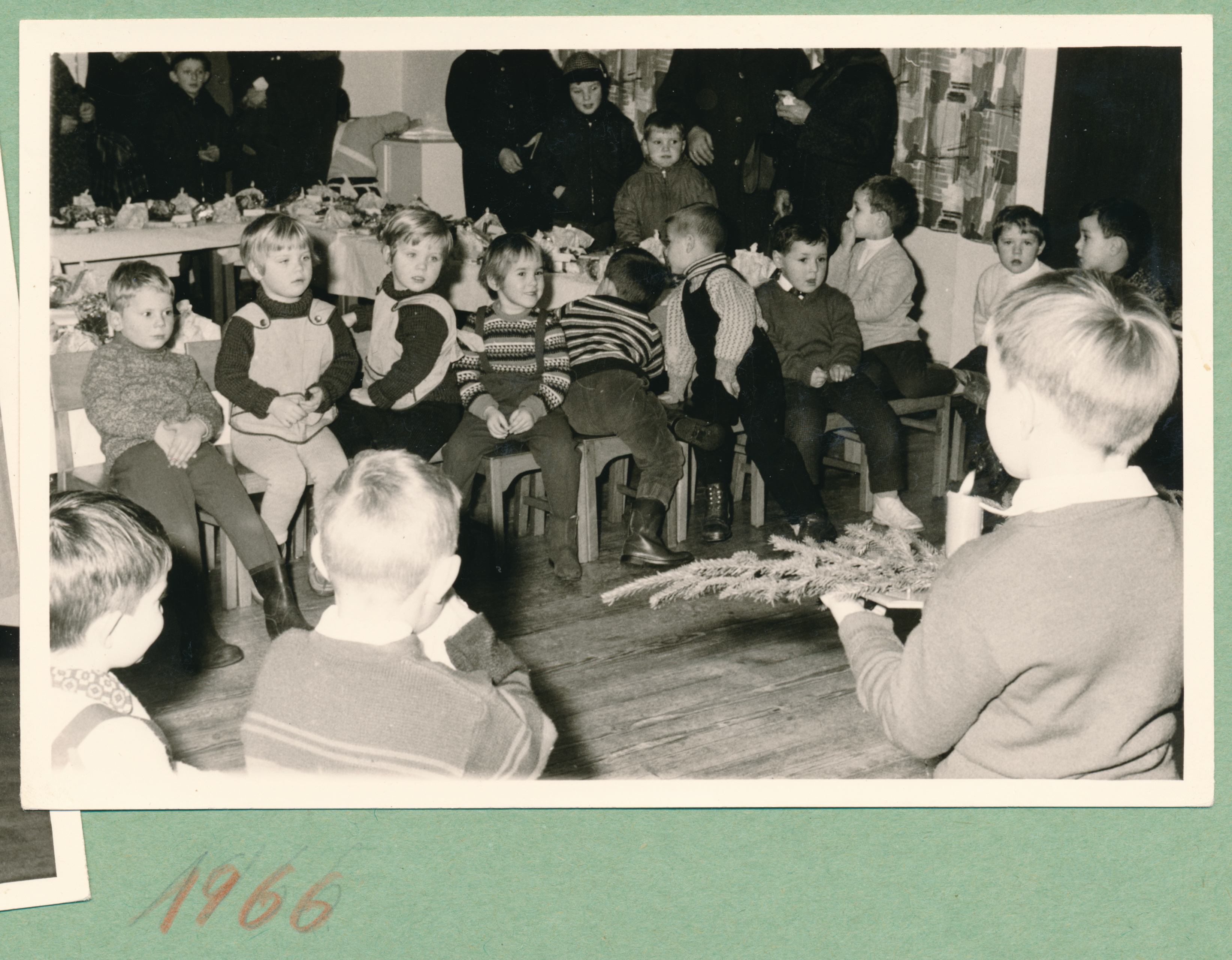 Kindergarten Abensberg Weihnachten 1966