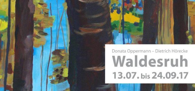 """Donata Oppermann und Dietrich Hörecke """"Waldesruh"""""""