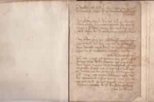 Das Geisenfelder Mirakelbuch im Original