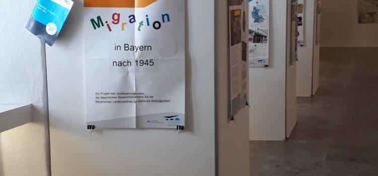 """Plakatausstellung """"Migration in Bayern nach 1945"""""""