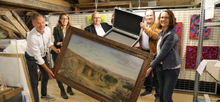 Kunst zum Ausleihen gibt es jetzt in der Artothek Abensberg